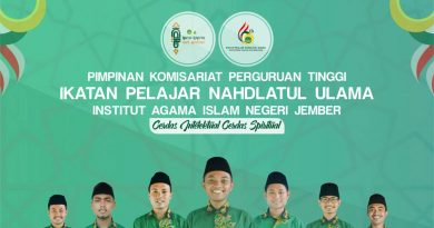 Pengurus PKPT IPNU IAIN Jember 2019-2020