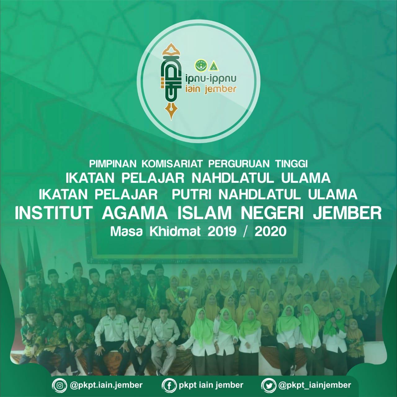 Pengurus PKPT IPNU IPPNU IAIN Jember 2019-2020