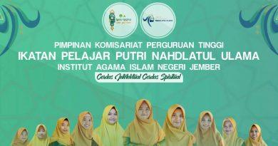 Pengurus PKPT IPPNU IAIN Jember 2019-2020