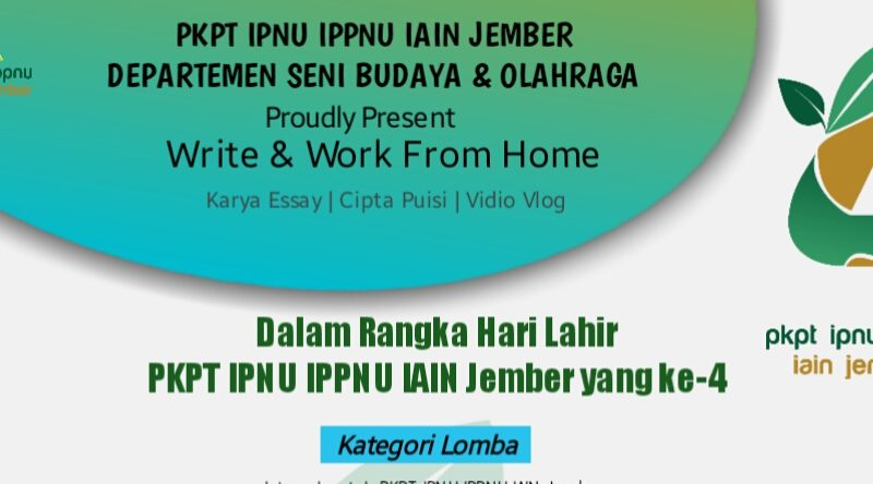 Write and Work from Home