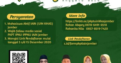 Open Recruitmen Anggota Baru