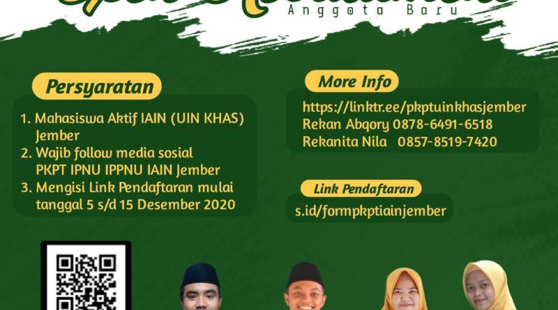 Open Recruitmen Anggota Baru